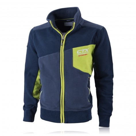 CTX100 Zip Jacket Lime