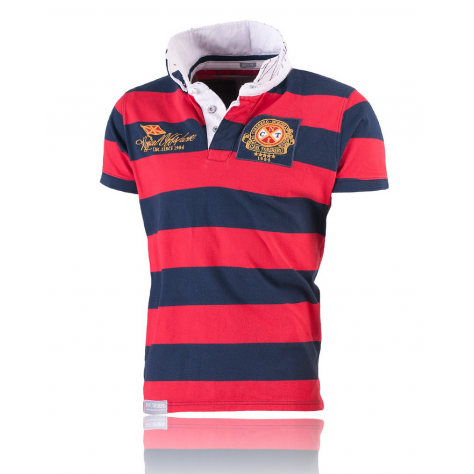 Royal Offshore Poloshirt Navy/Red