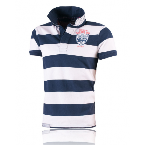 Sailing Inc. Poloshirt White/Navy
