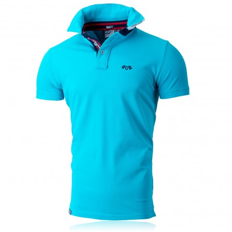 South Shore Poloshirt Aqua